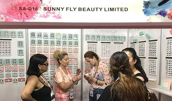 Sunny Fly Beauty deltog i Beautyworld Middle East 2017